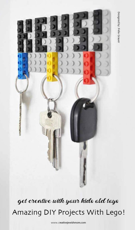 DIY-lego-key-rack