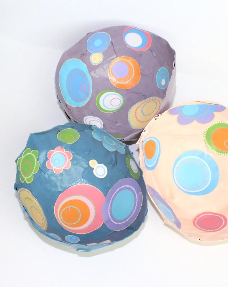 DIY-paper-mache-bowls