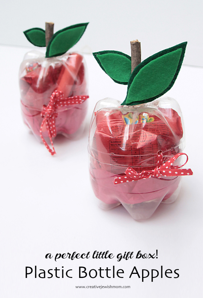 Plastic-bottle-apples-rosh-hashana-craft