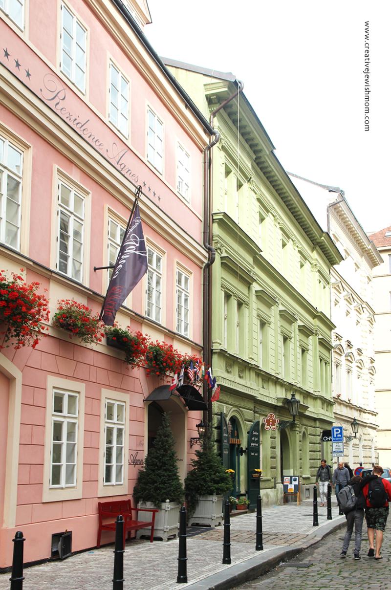 Prague-geraniums-peach-building