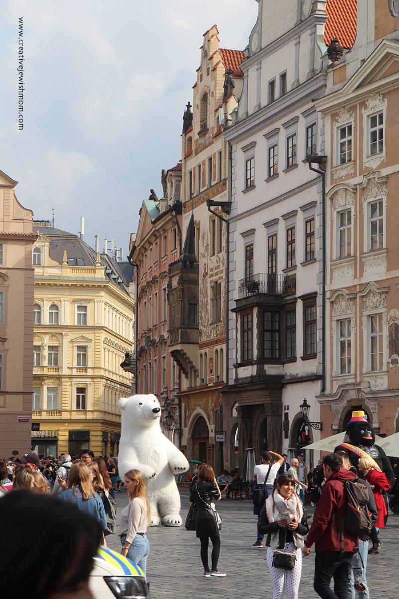 Prague-horses-white-with-black-spots