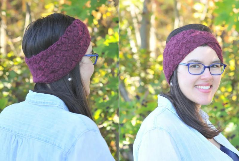 Knit-entrelac-ear-warmer