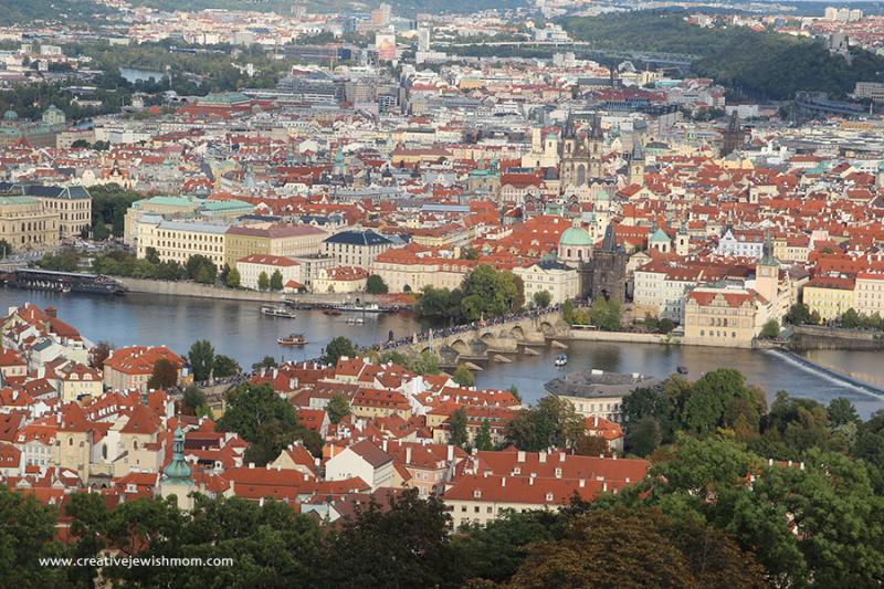 Prague-Petrin-Tower-Pastel-buildings