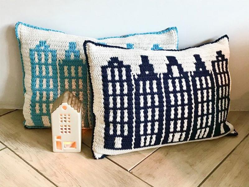 Crocheted-basket-weave-stitch-blanket