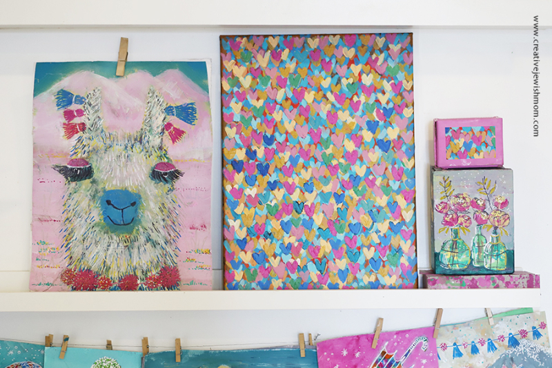 Mini-hearts-colorful-painting