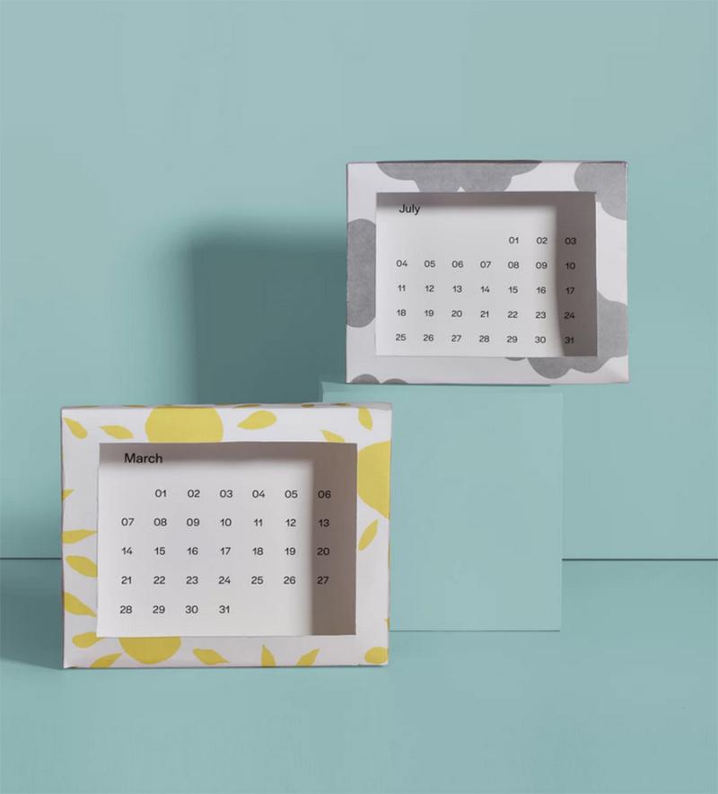 DIY-stand-up-calendar-in-a-box