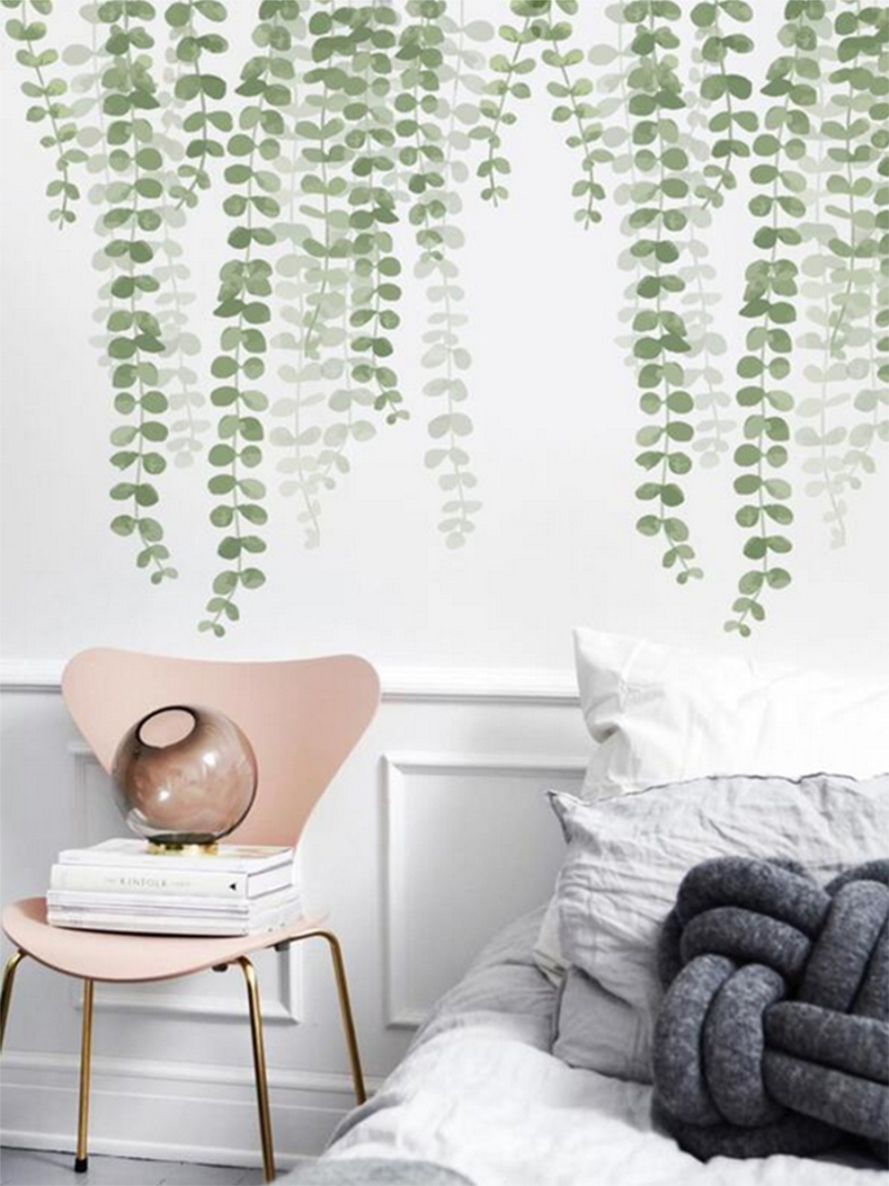Wall sticker vines