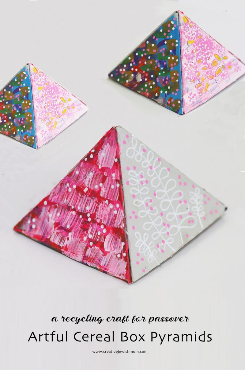Cardboard-pyramids-craft