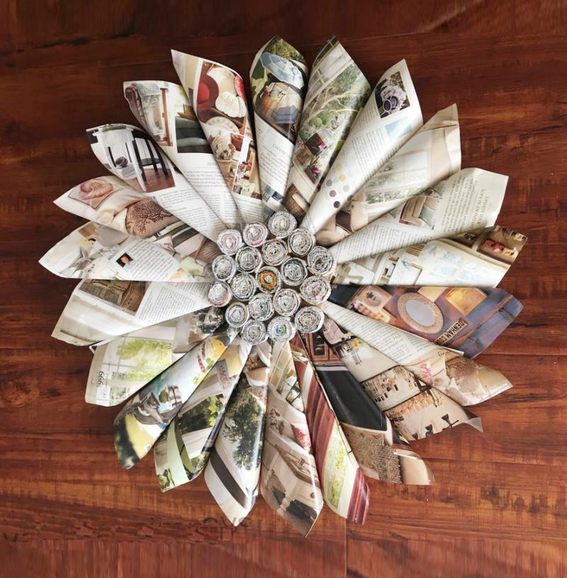 Magazine-page-cone-star