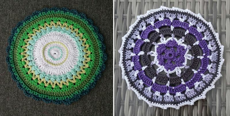 Crocheted-monster
