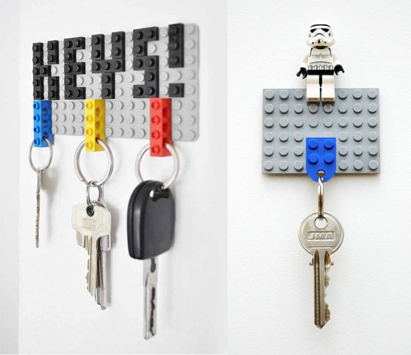 DIY-lego-key-chain-rack