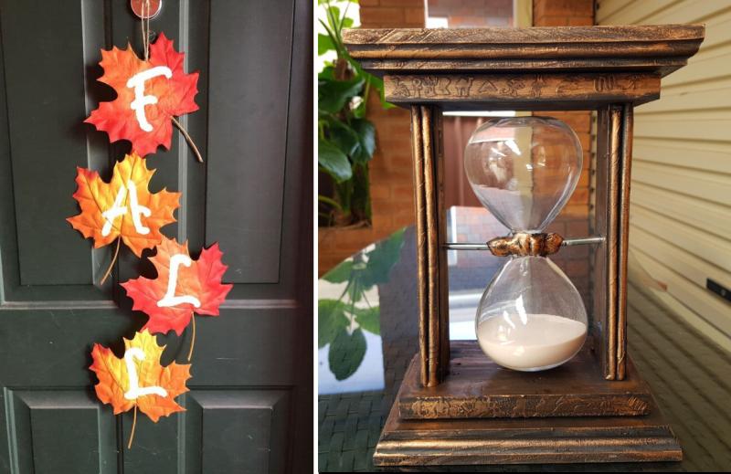 Fall-leaves-door-decor