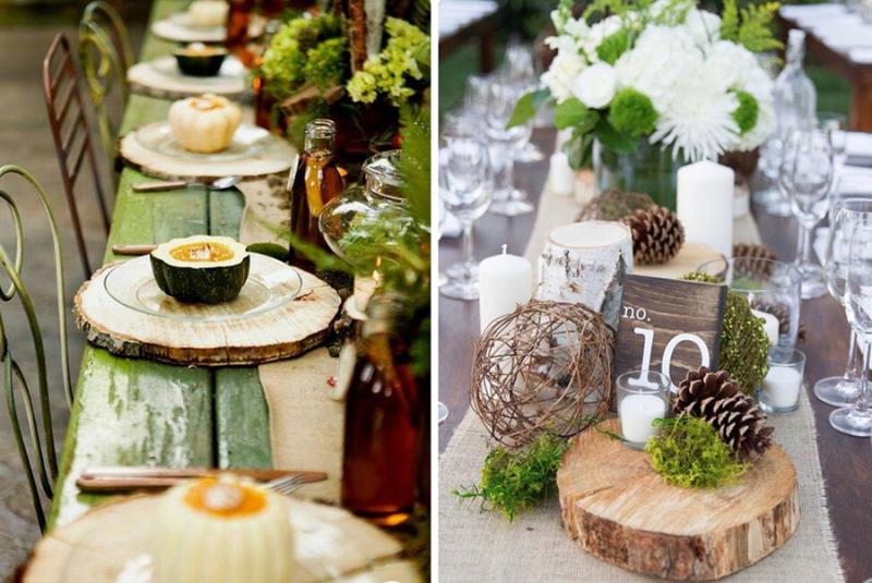 Wood-slice-wedding-table-decor