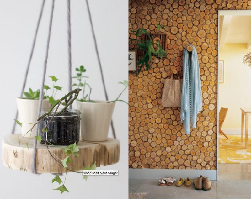 DIY-wood-slice-plant-shelf
