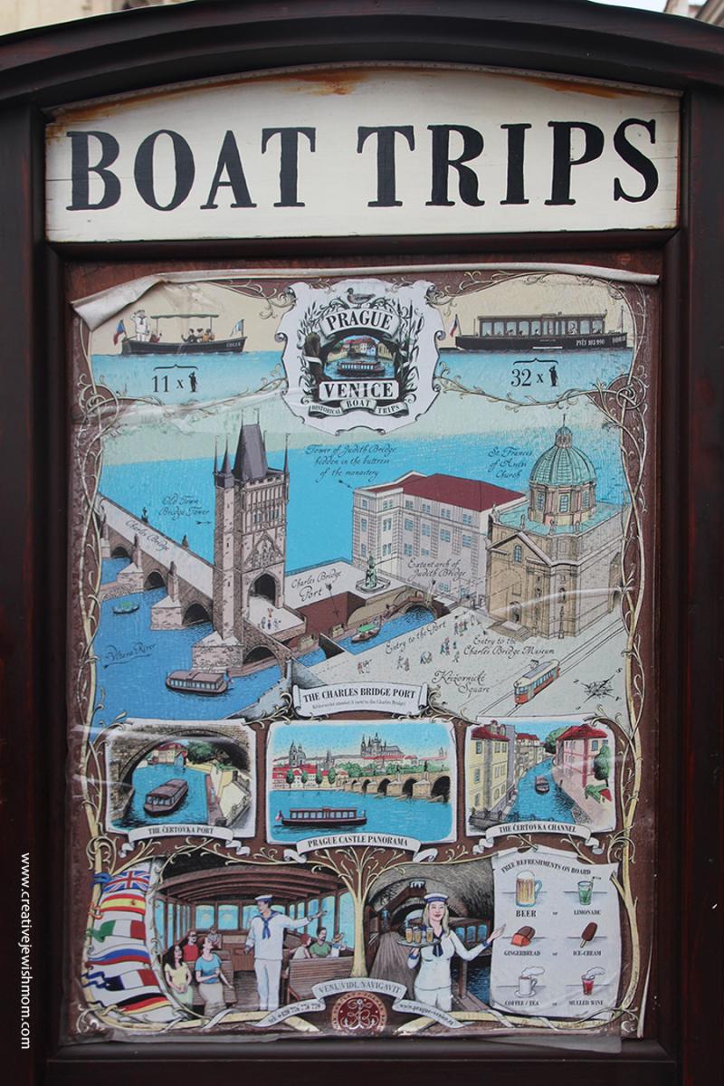 Prague-Boat-Trip-Sign