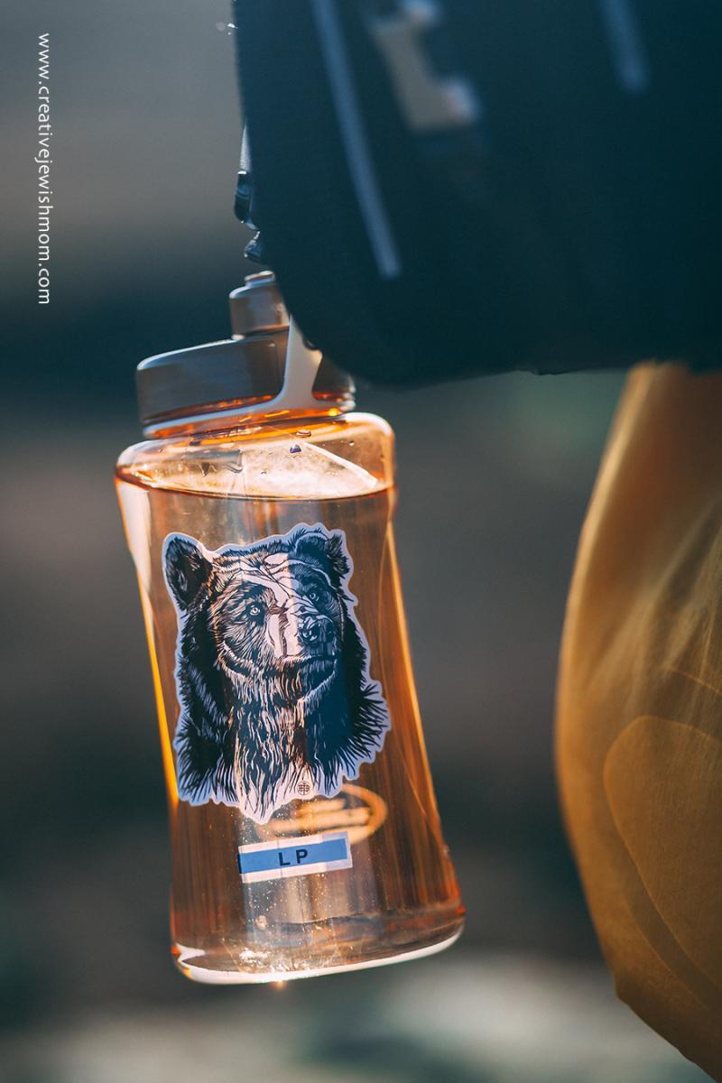 Vinyl sticker for water bottle