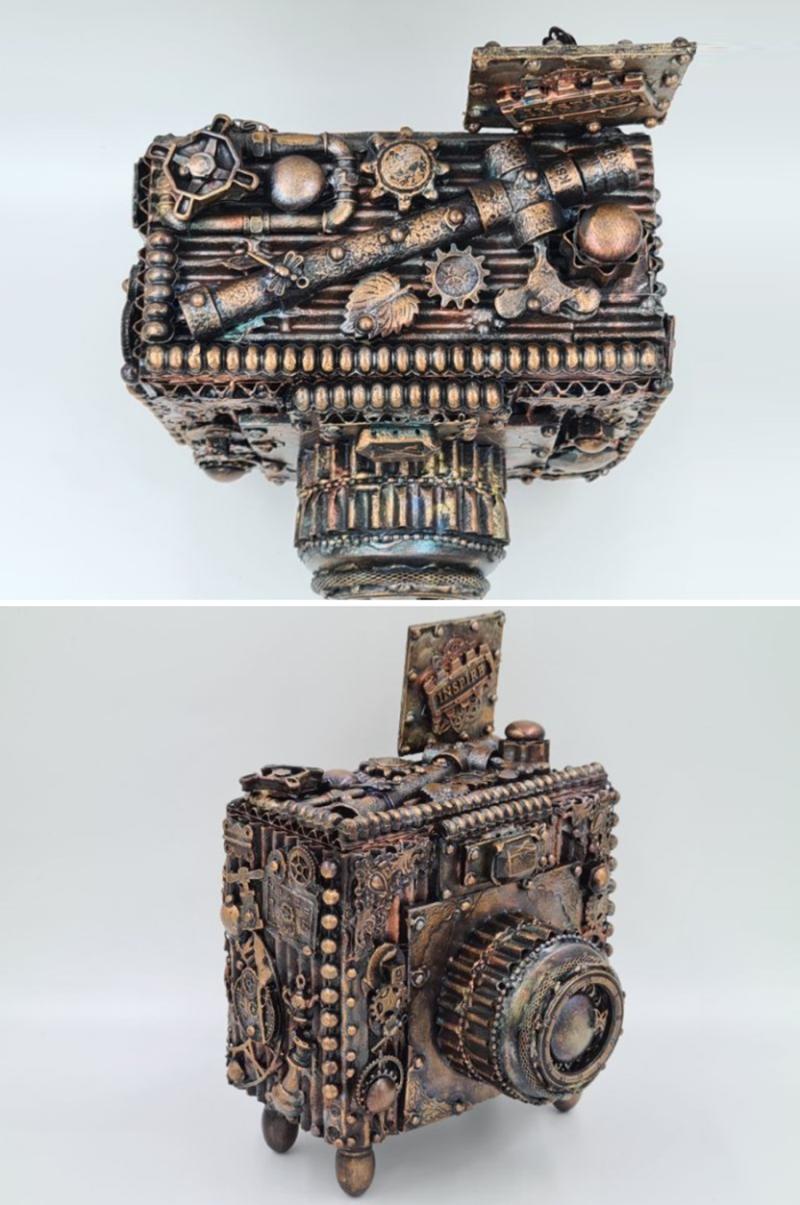 Steampunk-Camera