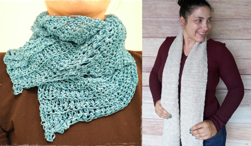 Simple-crocheted-scarf