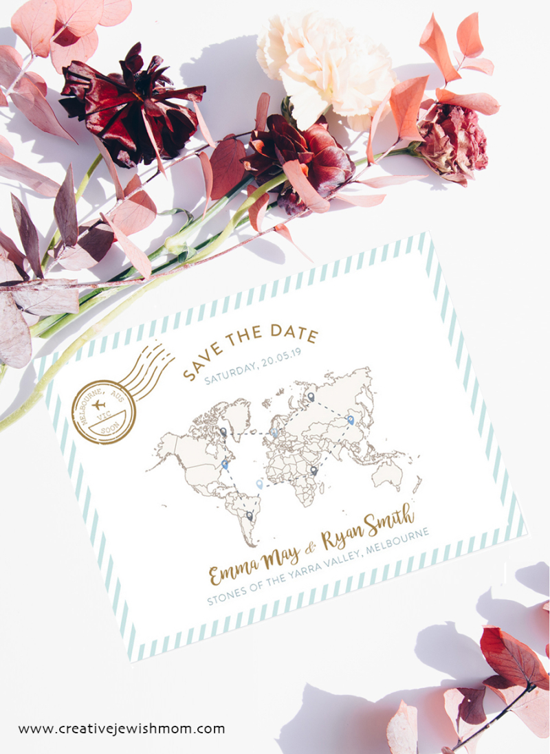Save-the-date-map-card