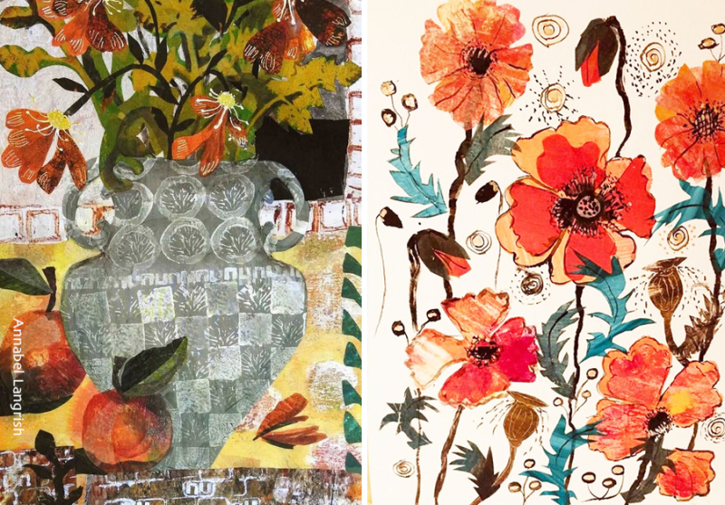 Paper-collage-with-painted-paper-examples