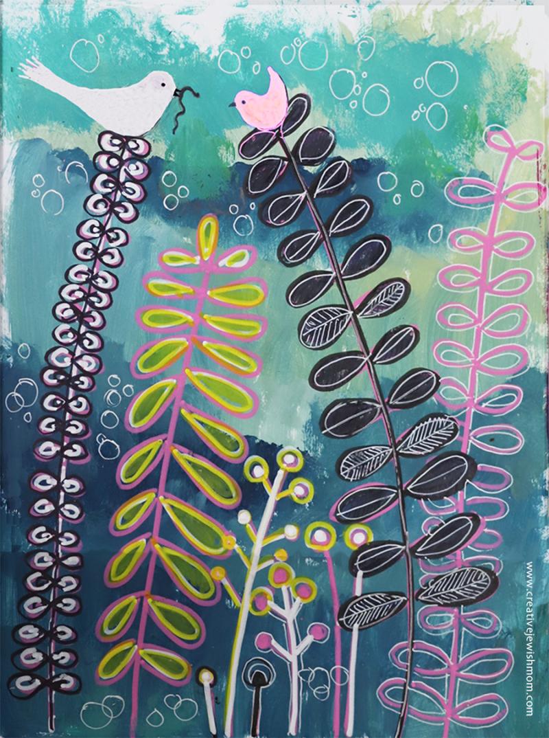 Botanical-doodle-simple-colorful