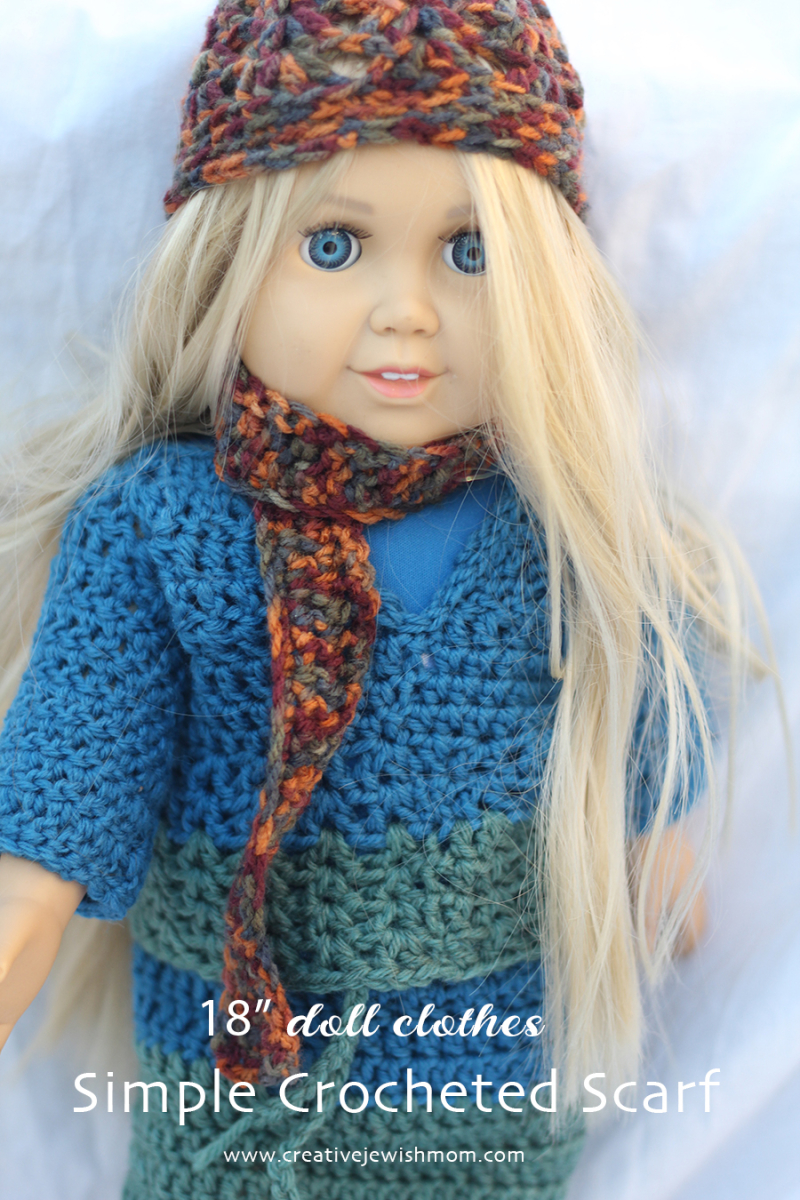 Simple-crocheted-doll-scarf