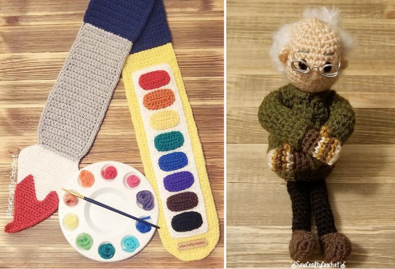Crocheted-bernie-sanders