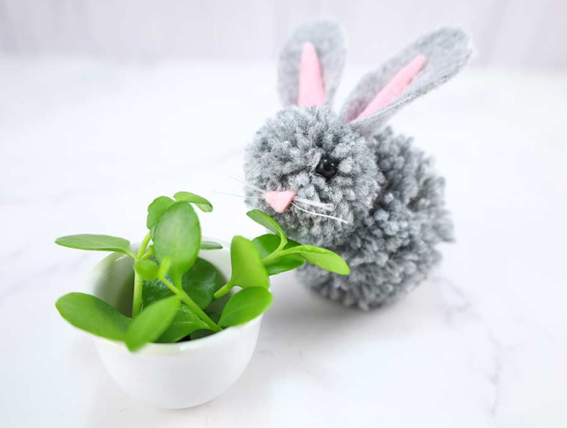 Diy-yarn-bunny