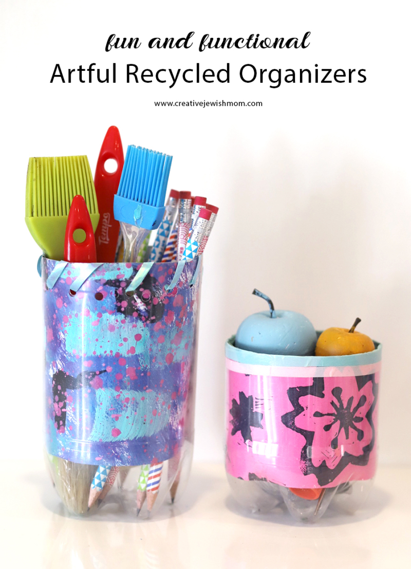 Recycled-bottle-organizer