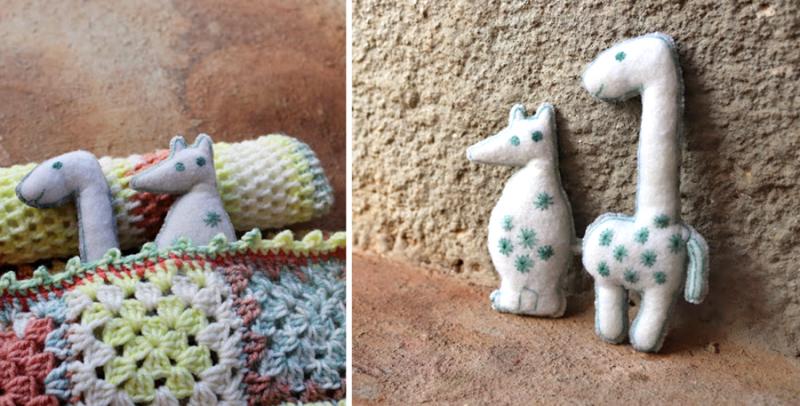 Tiny-felt-stuffies