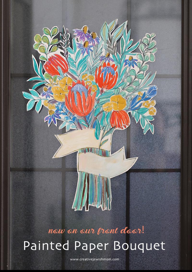 Painted-cut-out-flower-bouquet