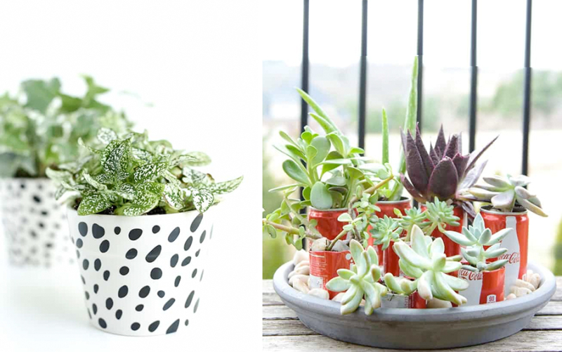 DIY-planters-with-tin-cans