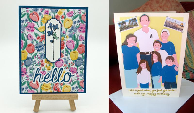 Cut-paper-family-portrait-card