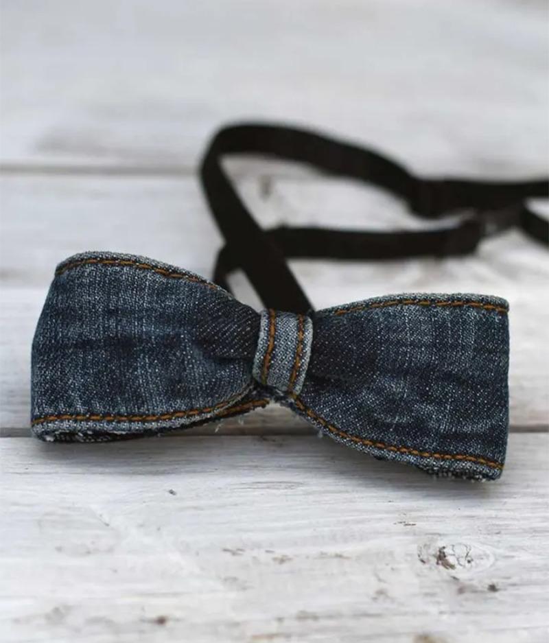 Jeans-DIY-bow-tie