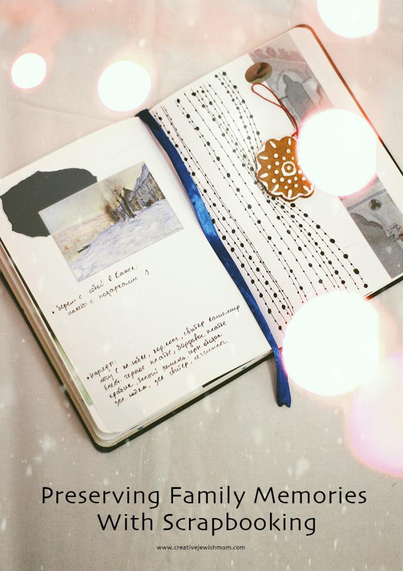 Scrapbook art journal