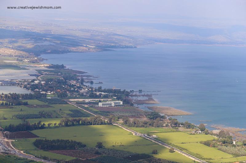 Israel-Mount-Arbel-View-North-Of-Lake