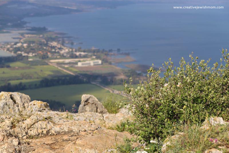 Israel-Mount-Arbel-View-north-sea-of-galilea