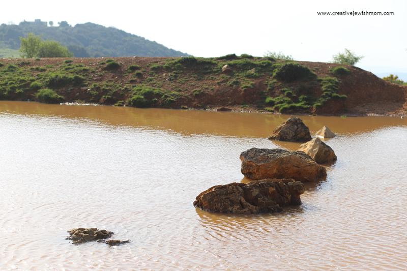 Israel-meron-rain-pool-rocks 2
