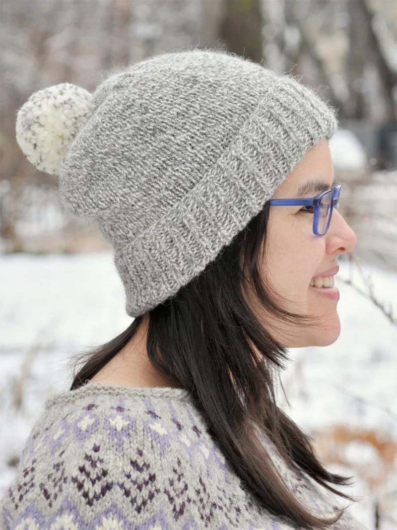 DIY-knit-pom-pom-winter-hat