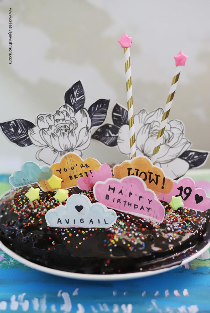 Magic-wand-birthday-cake