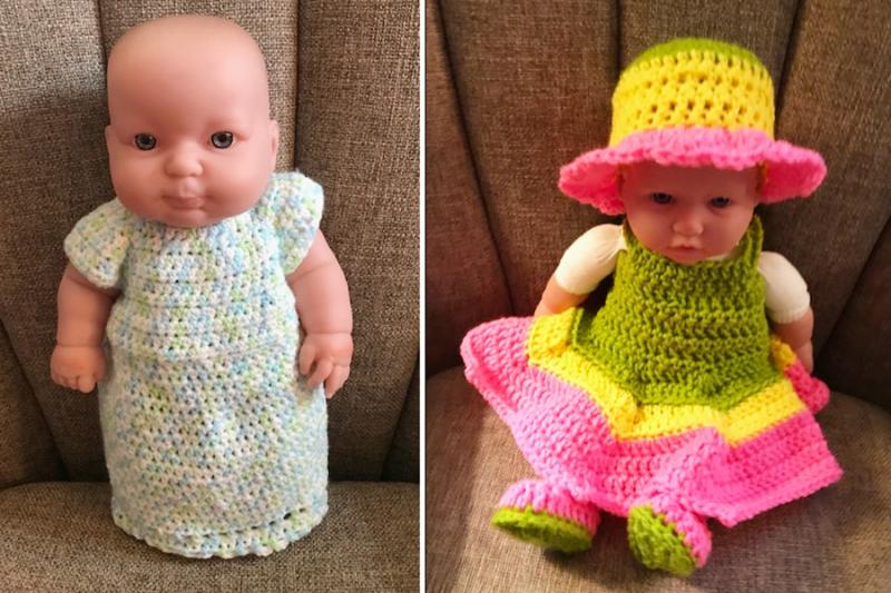 Crochet-doll-nightgown